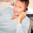 Man with telephone — Stock Photo #6703457