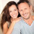 Happy couple at home — Stock Photo #6703467