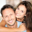 Happy couple at home — Stock Photo #6703472