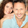 Couple relaxing at home — Stock Photo #6703475