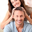Happy couple at home — Stock Photo #6703569