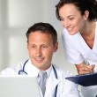 Doctor and nurse — Stock Photo #6704875
