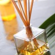 Perfumed incense sticks - Stock Photo