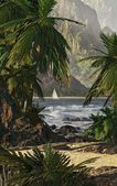 Kauai, Hawaï — Stockfoto