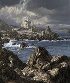 Stormy Irish Coast — Stock Photo