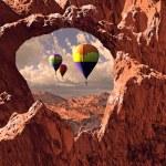 Southwest Hot Air Balloons — Stock Photo #5712597