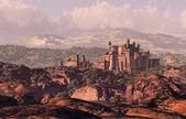 Castle Landscape — Stock Photo