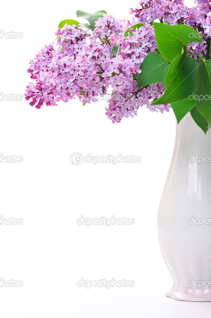 Поздравление к вазе с цветами