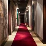 Hotel`s corridor — Stock Photo #5740650