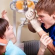 Dental phobia — Stock Photo