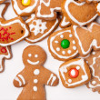 Homemade christmas cookies — Stock fotografie #5741448