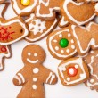 Homemade christmas cookies — Stock Photo #5741448