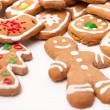 Homemade christmas cookies — Stock Photo #5741449