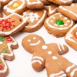Homemade christmas cookies — Stock Photo #5741450