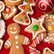 Foto Stock: Homemade christmas cookies