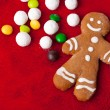 Foto Stock: Gingerbread man