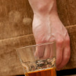Stock Photo: Alcohol abuse concept image