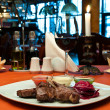 Grilled lamb ribs with beet-root carpaccio — ストック写真 #5741871