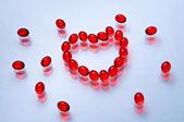 Red heart shape — Stock Photo