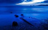 Lever du soleil de mer — Photo