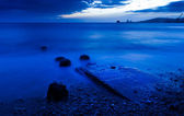 Zee zonsopgang — Stockfoto