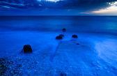 Sea sunrise — Stock Photo