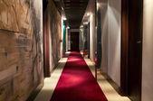 Hotel`s corridor — Stock Photo