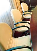 Chairs in meeting room — 图库照片