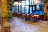 Italian restaurant — Stock Photo