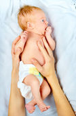 Mother care — Stock Photo