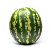 Watermelon isolated over white — Stock Photo