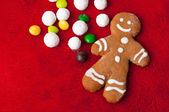 Gingerbread man — Stock Photo