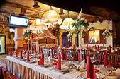 Svatební hostina — Stock fotografie