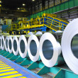 Rolls of steel sheet — Stock Photo #5670107