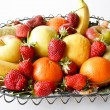fruits basket — Stock Photo