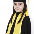 Royalty-Free Stock Photo: Little girl graduation