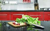 Gotowy do sałatki — Zdjęcie stockowe