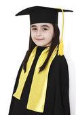 Little girl graduation — Stock Photo