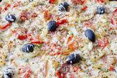 Dellux Pizza — Stock Photo
