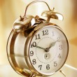 Old fashion alarm clock — Stock Photo