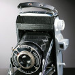 Stock Photo: Old photo camera