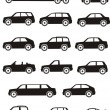 Royalty-Free Stock Vector Image: Car Types