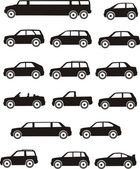 Car Types — Stock Vector