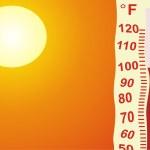 Heat on the Earth — Stock Photo