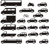 City transport — Stock Vector