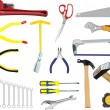 Royalty-Free Stock Vector Image: A set of hand tools
