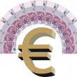 Euro money — Stock Vector