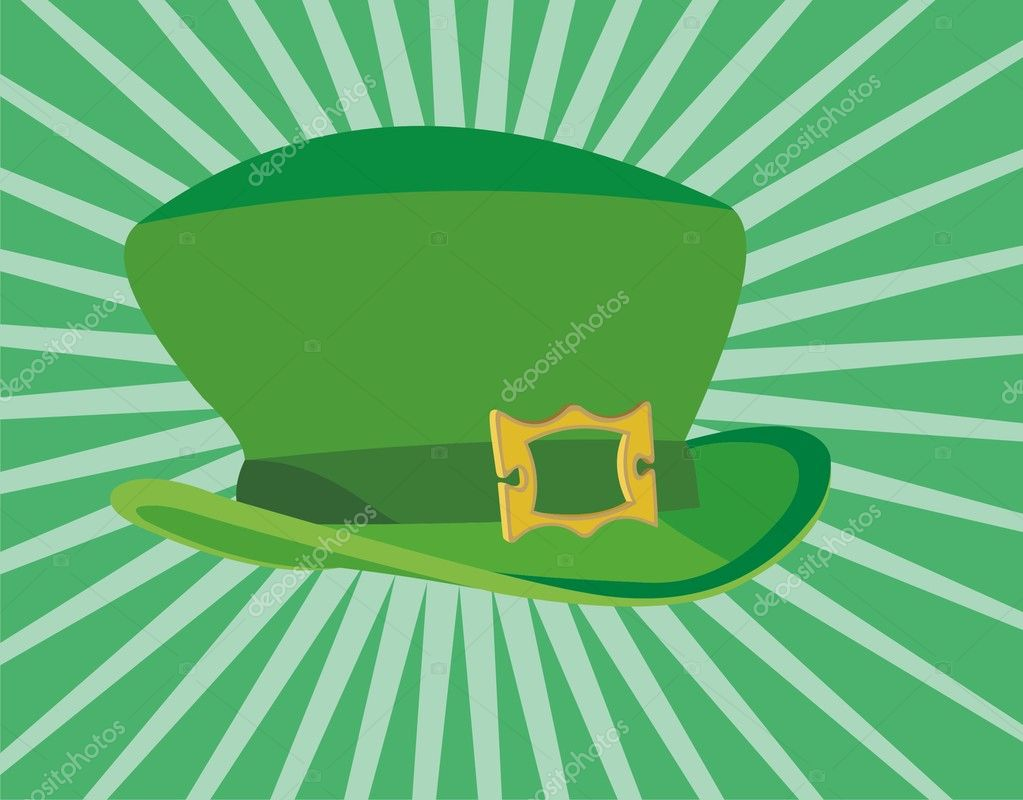 Beautiful symbol of the holiday - St. Patrick's Day — Stock Vector #6002299
