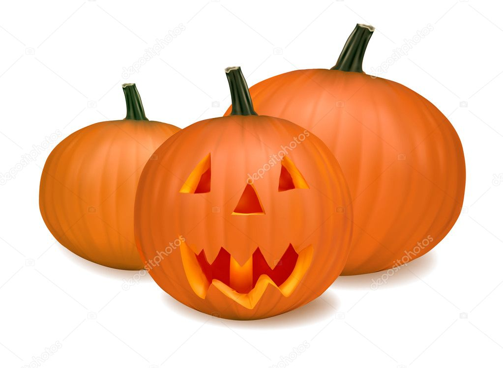 Halloween pumpkin vegetables. Vector  — Stock Vector #5777102