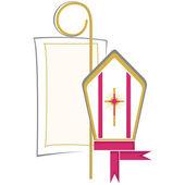 Hıristiyan sembolü — Stok Vektör